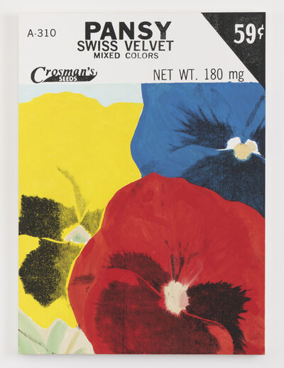 Lucien Smith, 'Pansy (Seed Packet)', 2021