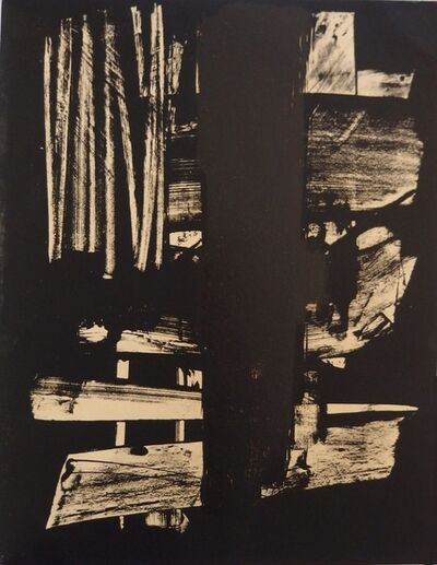 Pierre Soulages, 'Lithograph n°9', 1959