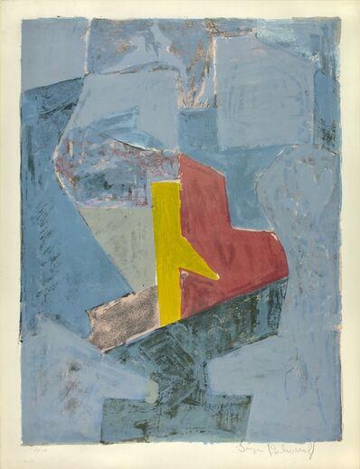 Serge Poliakoff, 'Composition bleu, jaune et rouge', 1958