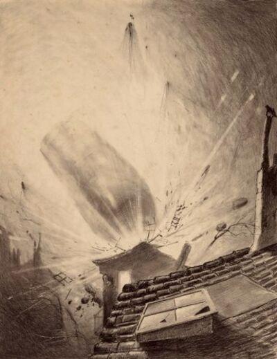 Henrique Alvim Correa, 'Martian Reinforcements', 1906