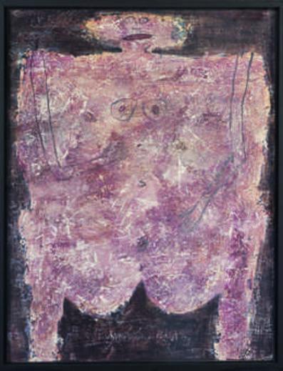 Jean Dubuffet, 'Corps de dame—Pièce de boucherie(Woman's Body—Butcher's Slab)', 1950