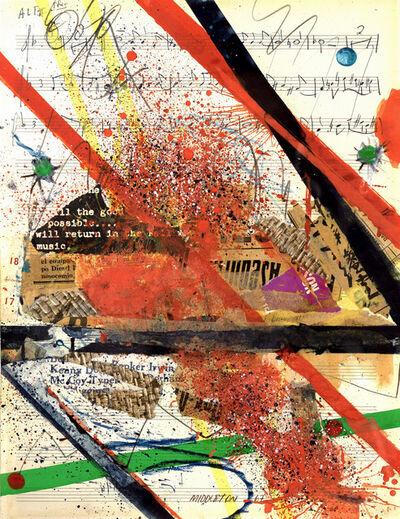 Sam Middleton, 'Slashes of Sound', 1967