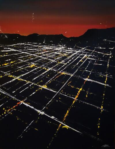 Pete Kasprzak, 'Fountain Street Aerial on Sunset', 2018