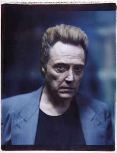 Julian Schnabel, 'Untitled (Christopher Walken)', 2006
