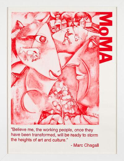 Yevgeniy Fiks, 'Communist Tour of MoMA (Marc Chagall)', 2010