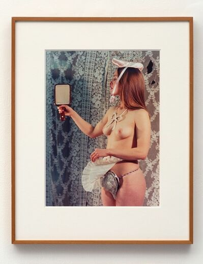 Rose English, 'Study for A Divertissement: Jo and Porcelain Cache-Sexe', 1973