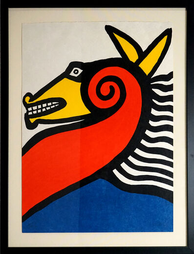 Alexander Calder, 'Horse', 1975