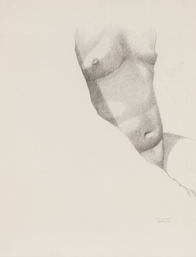 Rolland Golden, 'Male Torso ', 1980