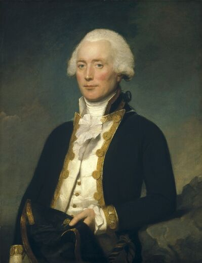 Lemuel Francis Abbott, 'Captain Robert Calder', ca. 1787/1790