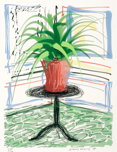 David Hockney, 'Untitled 468', 2010