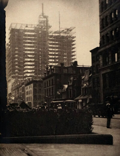 Alfred Stieglitz, 'Old and New New York', 1910 (Printed 1911)