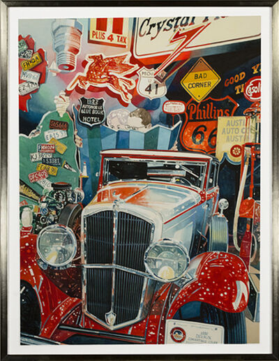 Bruce McCombs, 'Car Museum', ca. 1990