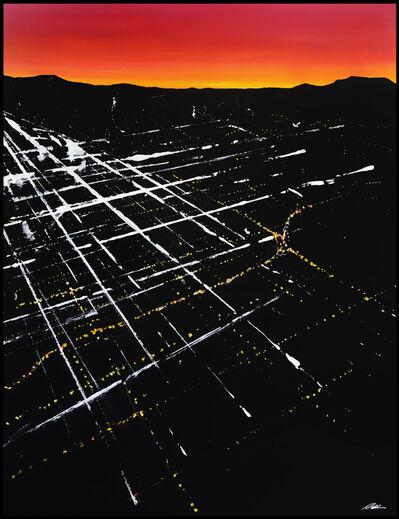 Pete Kasprzak, 'Fair Oaks Sunset Aerial', 2019