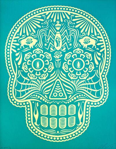 Ernesto Yerena, 'Calavera Turquoise & Cream Edition', 2019