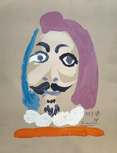Pablo Picasso, ''Portrait Imaginaires 27.3.69 IV'', 1970