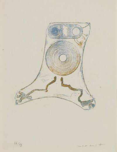 Max Ernst, 'Plate 32, From Lewis Carroll's 'Wunderhorn'', 1970