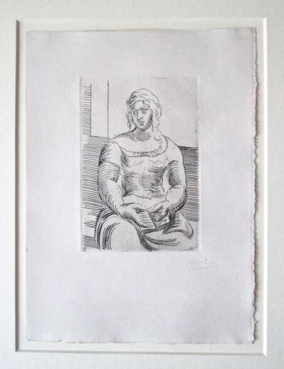 Pablo Picasso, 'Femme au Livre', ca. 1918