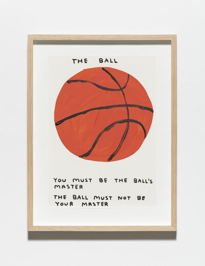 David Shrigley, 'Untitled (The ball)', 2019