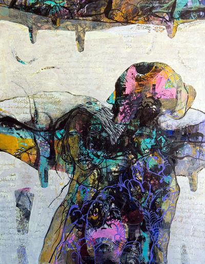 Jehad Al Ameri, 'Blue Lines', 2020
