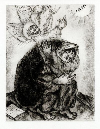 Marc Chagall, 'Prière d' Ésaïe (Isaiah's Prayer)', 1956