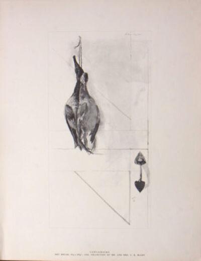 Andrew Wyeth, 'Canvasbacks'