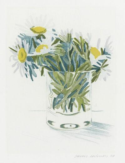David Hockney, 'Marguerites', 1973