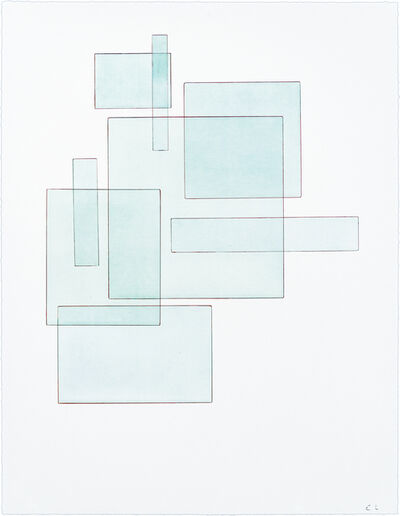 Emil Lukas, 'Double Event (Glass) 1877', 2020