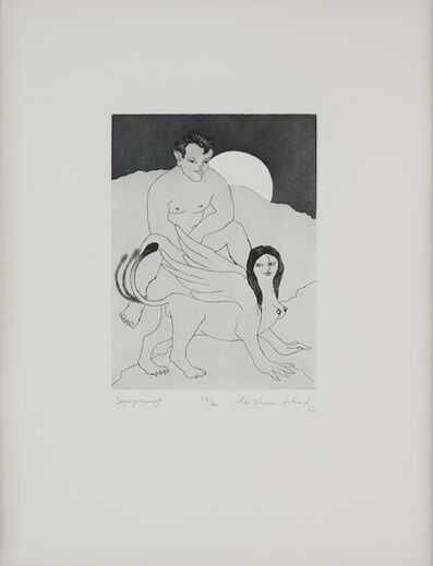 Christian Schad, 'Ödipiade oder Sorgen eines Engagierten / Begegnung', 1967