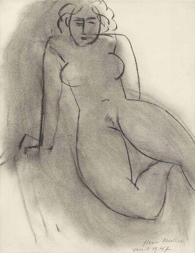 Henri Matisse, 'Seating Nude', 1958
