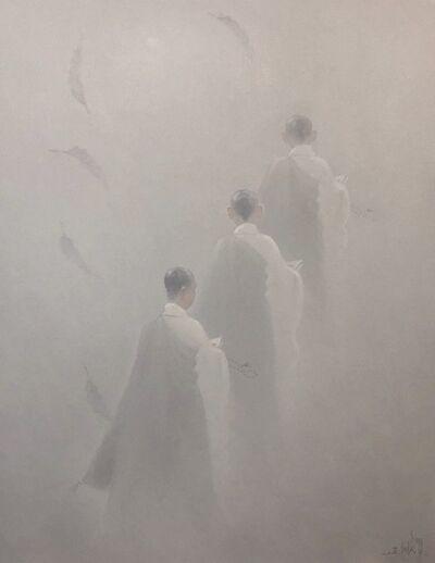 Bui Van Hoan, 'Returning to the pagoda', 2019