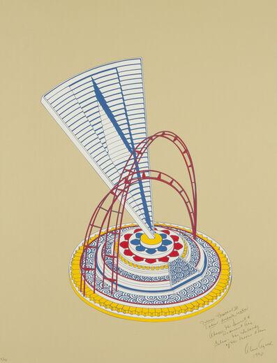 "Alice Aycock, 'Set of 4 ""Miami Proposal"" Prints ', 1990"