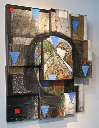 Vladimir Cora, 'Cabeza fragmentada', 2001