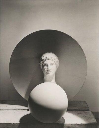 Horst P. Horst, 'Classical Stil Life  Circle, Disk, Bust', 1937