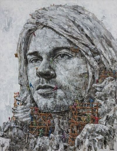 Vani Hidayatur Rahman, 'The times they are a Changin' #6- Kurt Cobain', 2019