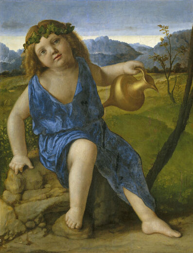 Giovanni Bellini, 'The Infant Bacchus', probably 1505/1510