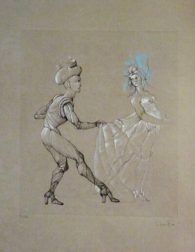 """Leonor Fini, 'Original Engraving """"Women"""" by Leonor Fini', 1960s"""