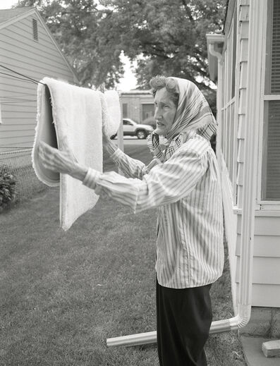 Deanna Dikeman, 'Rug on Clothesline', 2004