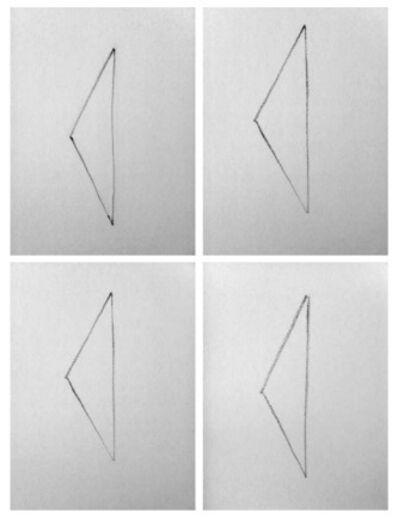 Yazan Khalili, 'Simple Standing Triangle'