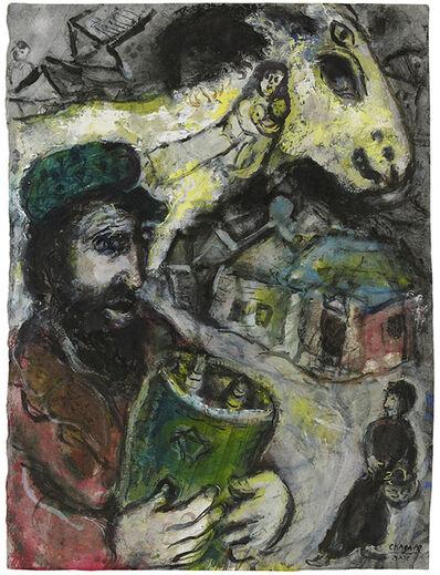 Marc Chagall, 'Yellow Goat', 1966