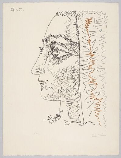 Pablo Picasso, 'Profil En Trois Couleurs (Jacqueline Roque)', 1956