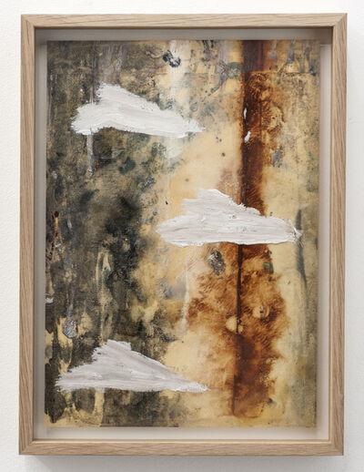 Benoît Maire, 'Peinture de nuages', 2015