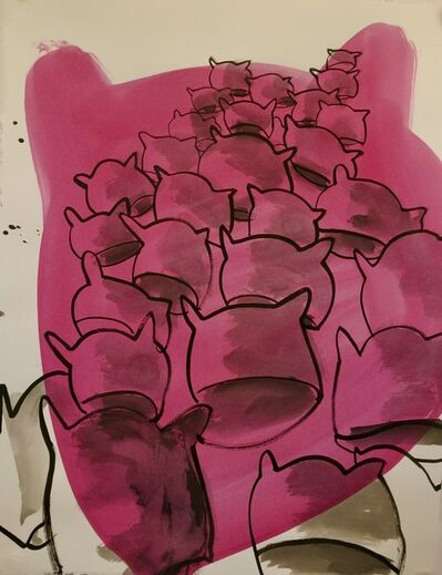Deborah Buck, 'Pink Pussy Hats', 2017
