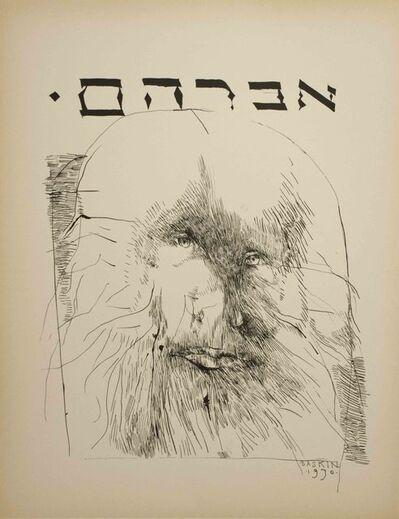 Leonard Baskin, 'Abraham', 1970