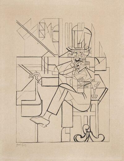 Juan Gris, 'L'Homme au Café', ca. 1912