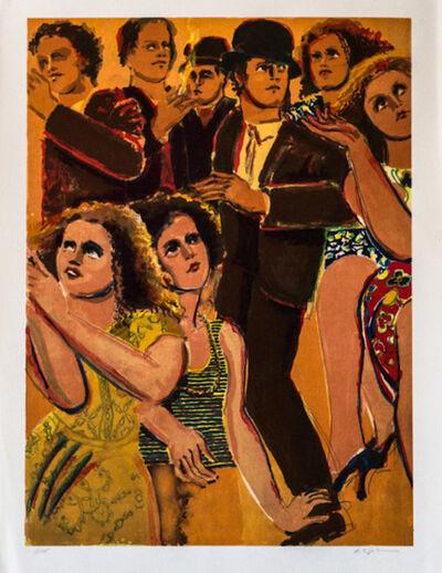 Lester Johnson, 'Street Scene 4', 1978