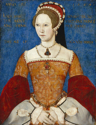 Master John, 'Mary I of England', 1544