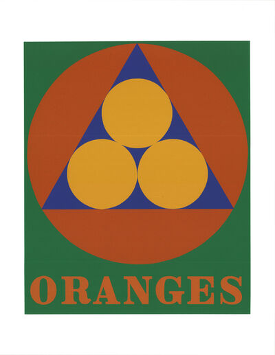 Robert Indiana, 'Oranges', 1997
