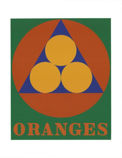 Robert Indiana, 'Oranges', 1997