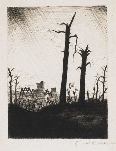 Christopher Richard Wynne Nevinson, 'Reclaimed Country', 1917