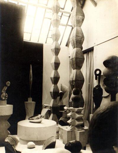 Constantin Brâncuși, 'Vue de l'atelier', 1927